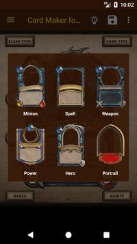 Card Maker for Hearthstone screenshot 2