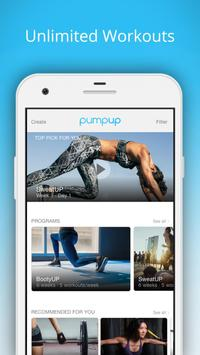 PumpUp screenshot 1