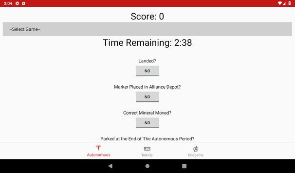 FTC Rover Ruckus Scorer screenshot 3