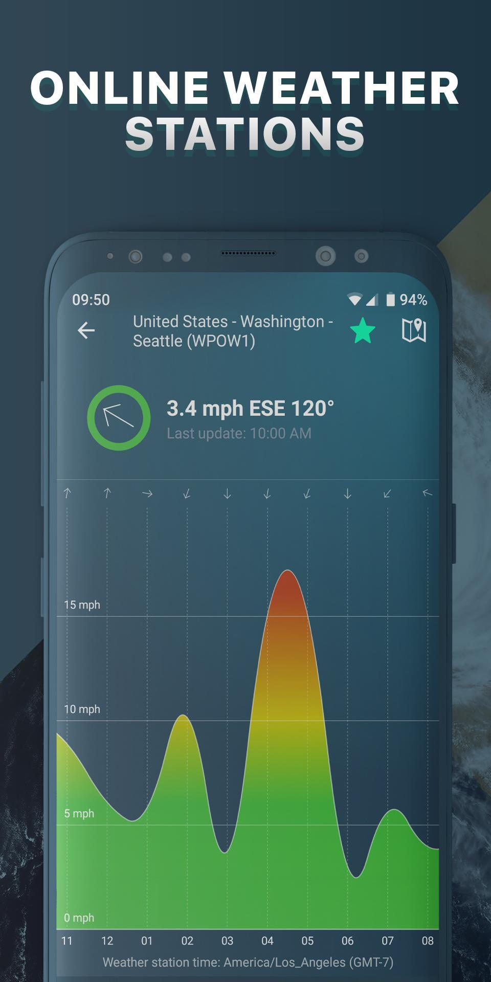 Windy app: wind forecast & marine weather for Android - APK Download