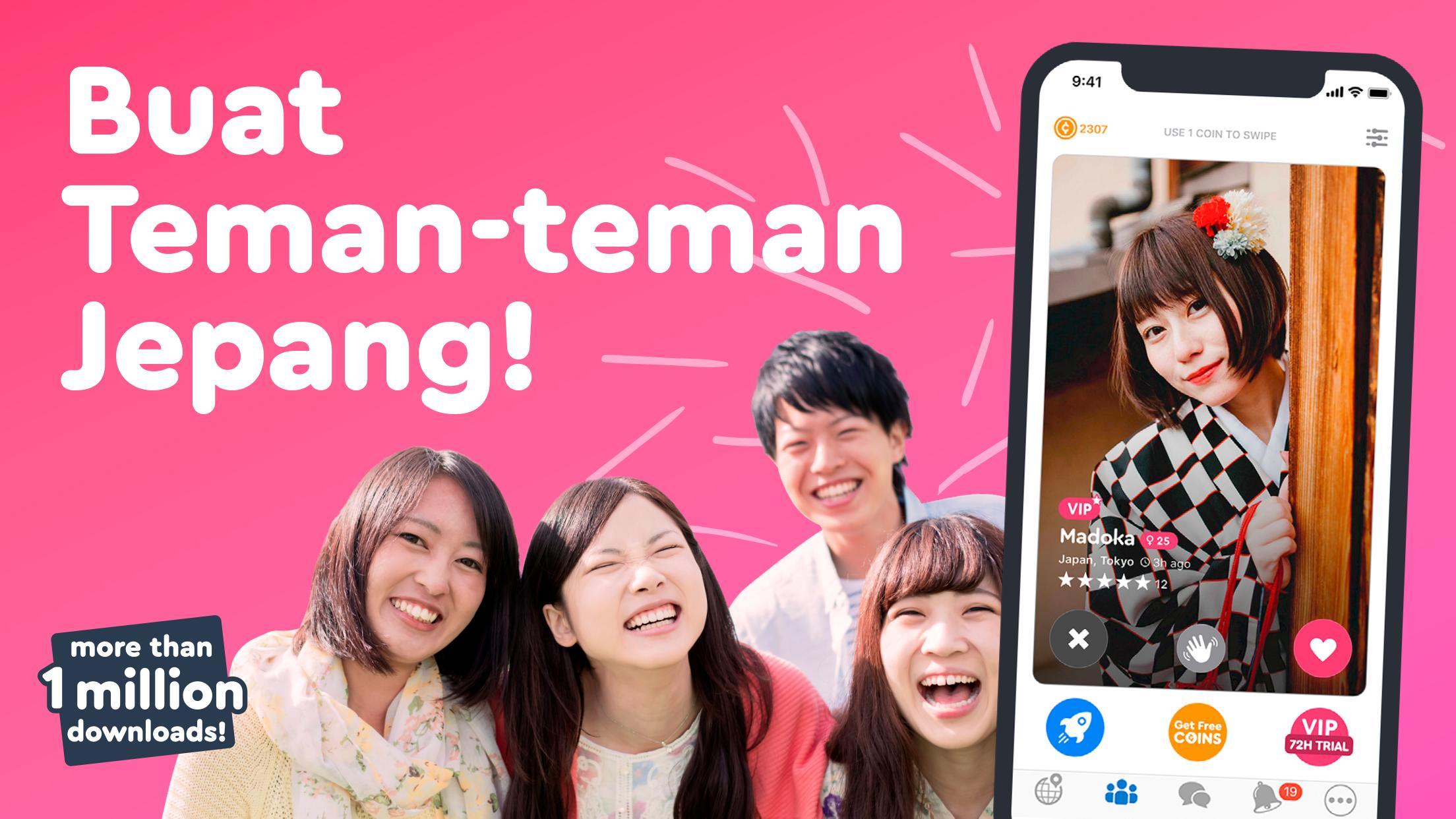 Chat jepang orang aplikasi dengan 8 Aplikasi