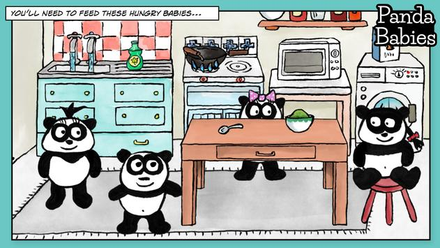 Panda Babies Playhome Lite screenshot 1