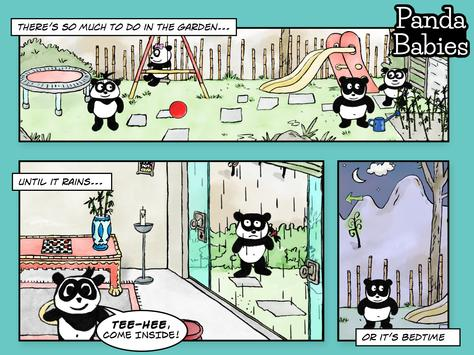 Panda Babies Playhome Lite screenshot 9