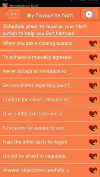 Negotiation Noti screenshot 4