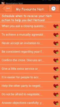 Negotiation Noti screenshot 16