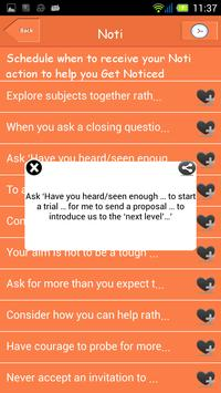 Negotiation Noti screenshot 1