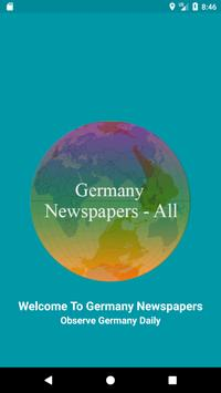 Germany Newspaper 2019 : Deutsche Zeitungen poster