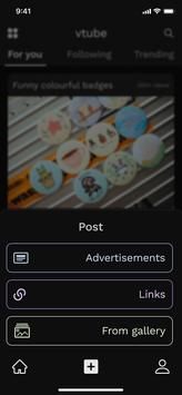 vTube - Indonesian short video sharings screenshot 1