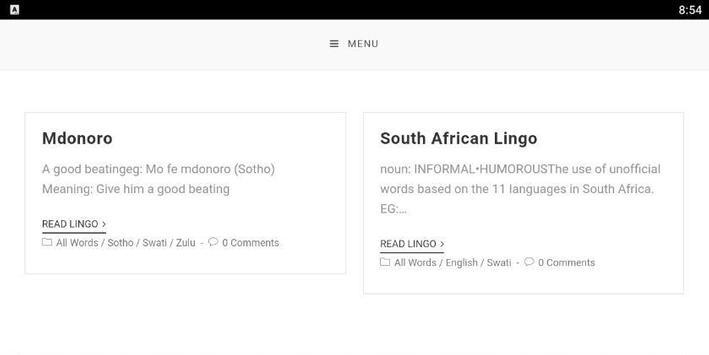 SA Lingo Lite screenshot 12