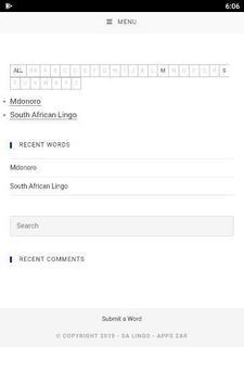 SA Lingo Lite screenshot 1