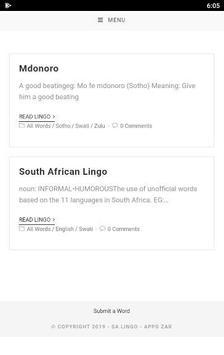 SA Lingo Lite screenshot 5