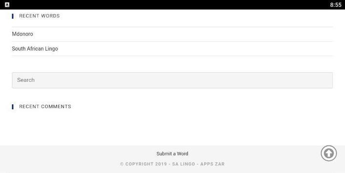 SA Lingo Lite screenshot 8