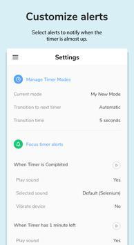 Focusmeter स्क्रीनशॉट 2