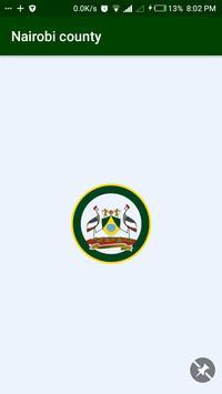 Nairobi county poster