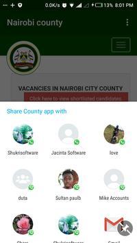 Nairobi county screenshot 2