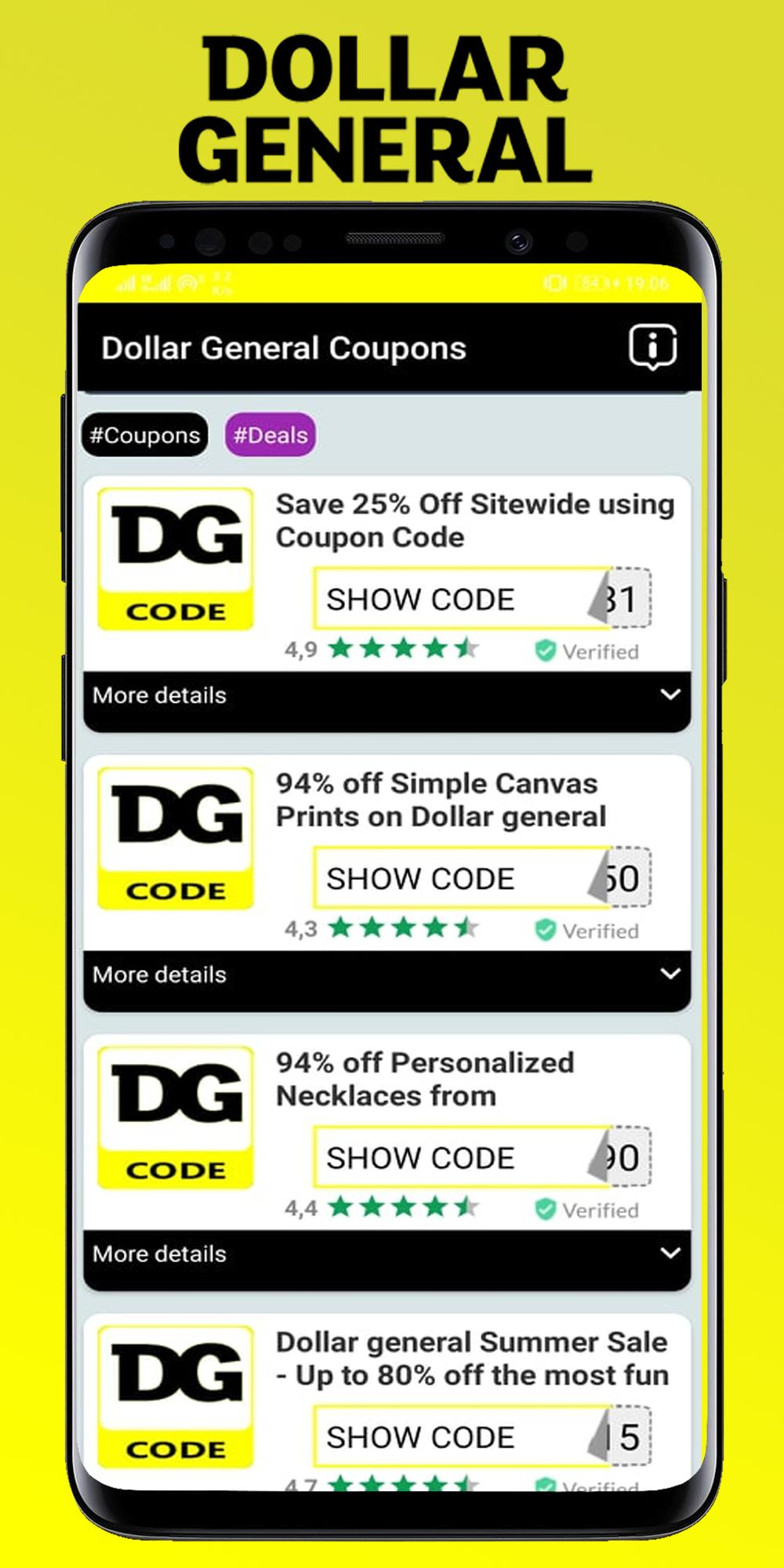 Digital Dollar Coupons For Dg For Android Apk Download