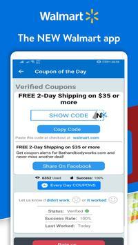 Coupons For Walmart - Hot Discount & Offer 65% OFF screenshot 5