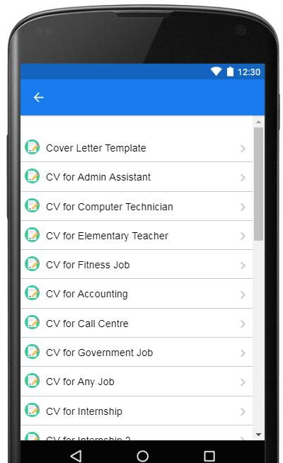 Cover Letter Examples 2019 for Android - APK Download