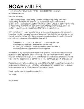 Cover Letter Samples screenshot 6