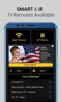 Universal TV Remote Control poster