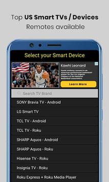 Universal TV Remote Control screenshot 2