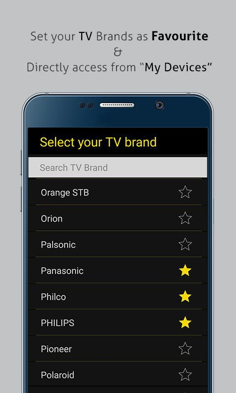 Universal TV Remote Control for Android - APK Download