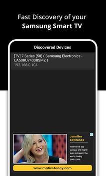 SAM-Matics: TV Remote for SAMSUNG Smart TV poster