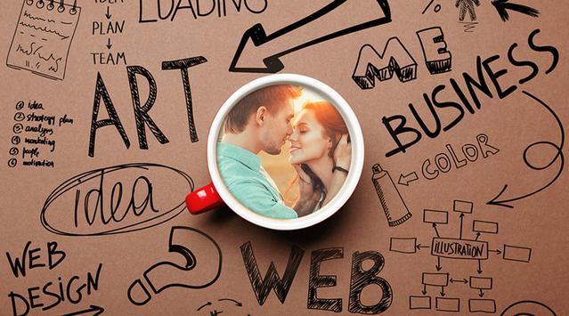 Coffee Photo Frame - Mug Photo Editor poster