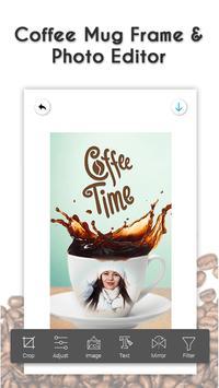 Coffee Photo Frame - Mug Photo Editor screenshot 1
