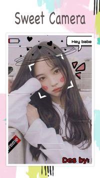 Live face sticker sweet camera2