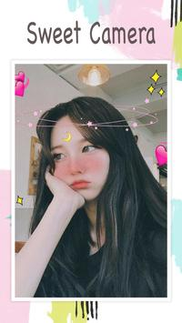 Live face sticker sweet camera5