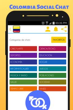 Colombia Social Chat - Meet and Chat with singles screenshot 2
