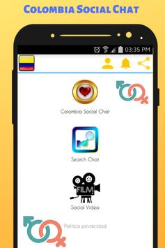 Colombia Social Chat - Meet and Chat with singles screenshot 3