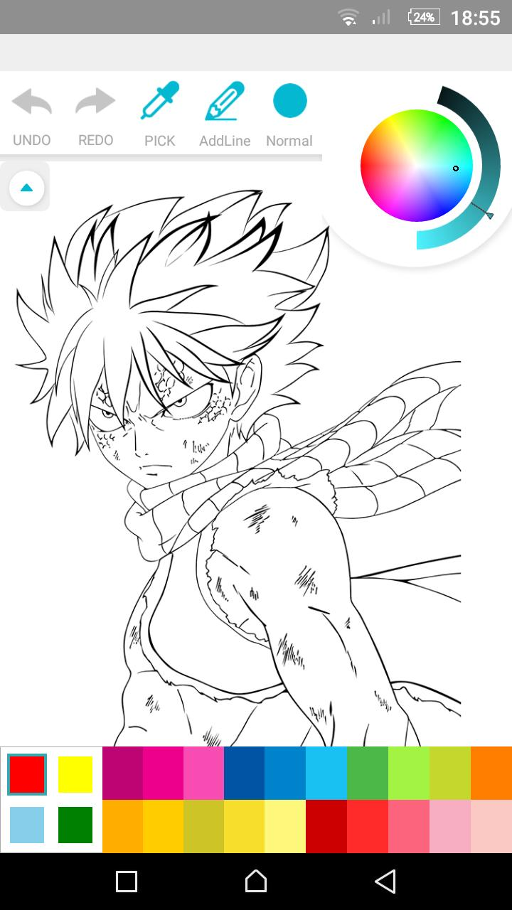 Fairy Tail Coloring Book for Android - APK Download