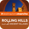 Rolling hills Ancient villages icon