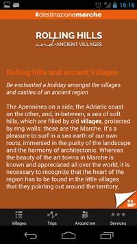 Rolling hills Ancient villages poster