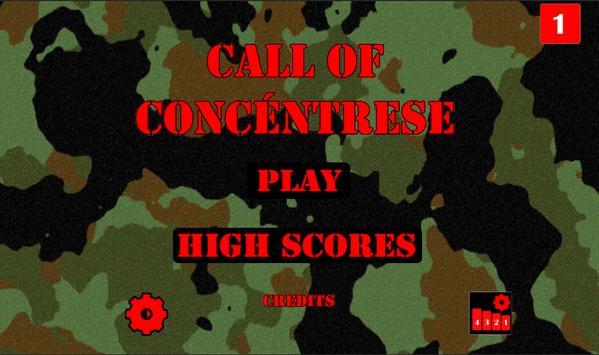 Concentration screenshot 2