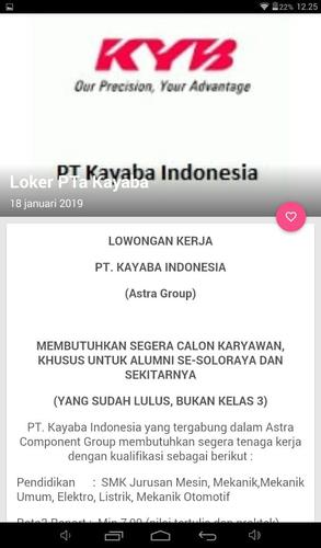 Loker Sma Smk Solo Raya For Android Apk Download