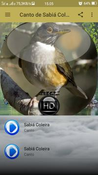 Canto de Sabiá Coleira screenshot 1