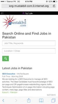 Mustakbil- Online Job Portal screenshot 2