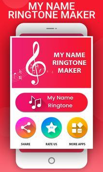 Name Ringtone Maker poster
