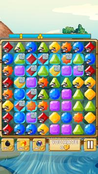 River Jewels - Match 3 Puzzle poster