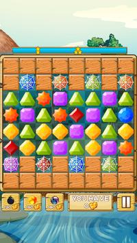 River Jewels - Match 3 Puzzle screenshot 1