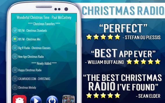 Christmas Radio poster