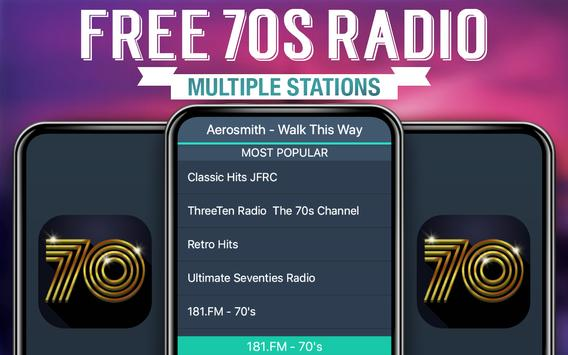 Free 70s Radio screenshot 2