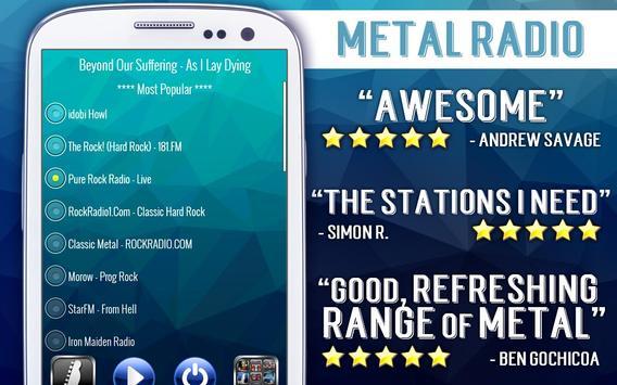 Free Metal Radio poster