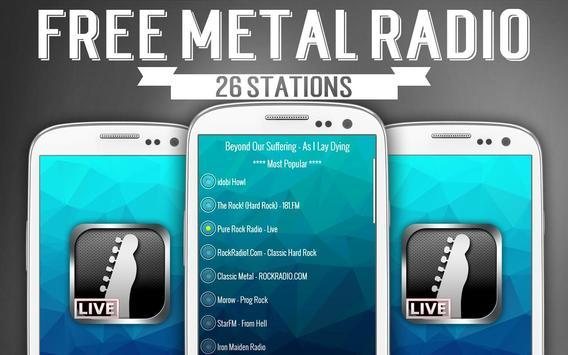 Free Metal Radio screenshot 1