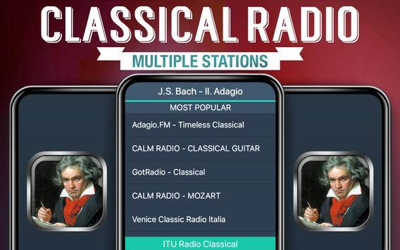Free Classical Radio poster