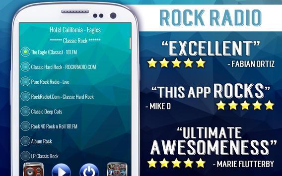Rock Radio screenshot 2