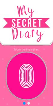 My Personal Diary with Fingerprint Password poster